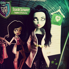Scarah (KTKate_and_Tanya) Tags: scarah screams doll dolls mattel monster high love fashion