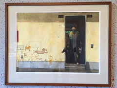 Painting by Bertil Bengtsson (hansn (2+ Million Views)) Tags: bildstrom painting picture mlning tavla art konst bertilbengtsson vrmland sweden sverige sillegrden arthall konstutstllning