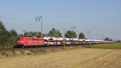 151-126-0 in Gandersum ( Emden ) 08-09-2016 (roestkrabber_hz) Tags: 151 1511260 db bahn eisenbahn rails railroad spoor spoorwegen