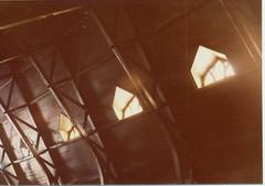 Sacred Heart Rafters (CityOfDave) Tags: wood church catholic urbanexploration urbanruins rooseveltisland romancatholic rafters abandonedbuilding sacredheart abandonedchurch welfareisland metropolitanhospitalromancatholicchurch