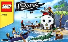 LEGO Pirates 70411 Treasure Island ins02 (noriart) Tags: lego pirates 2015 70411treasureisland