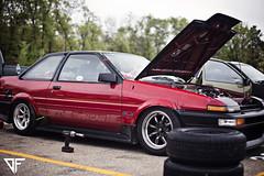 YOSHI (@Dustin Faulkner) Tags: classic cars vintage photography midwest wheels automotive retro tires toyota corolla jdm drifting drift ae86 watanabe automotion dustinfaulkner slidesociety