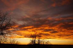 Burning sky (suki1801) Tags: sunset nature burningsky amazingsunset burningclouds fireonthesky