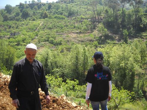 Nabeh Elsafa visit Sarah & Sheikh a May 3, 2015