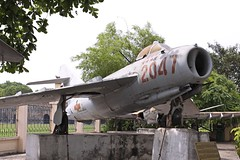MiG-17F 2047 (joolsgriff) Tags: vietnam airforce hanoi mikoyan 2047 mig17 mig17f vpaf vietnammilitaryhistorymuseum vietnampeoplesairforce nvaf