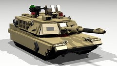7cbe213bfd23 M1A2 Abrams MBT (3) (NY Bricks) Tags  usa usmc lego m1 render
