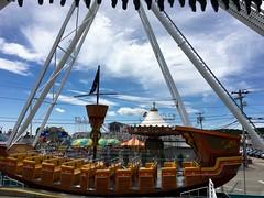 Journey To Old Orchard Beach! (Polterguy30) Tags: maine amusementpark oldorchardbeach pirateship amusementparks palaceplayland
