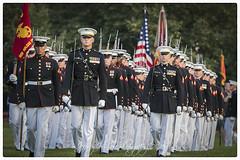 US Marine Silent Drill Platoon (Jeffrey Johnson ~~jupitersolo) Tags: usmc ceremony patriotic marchingband iwojima arlingtonva usmarines usmilitary sunsetparade marinebarracks nikond500 8thandi precisiondrillteam marinecorpwarmemorial usmarinecorpband usmarinecorpsilentdrillteam usmarinesilentdrillplatoon july2016 nikon80400mmvr2 sunsetparadejuly122016
