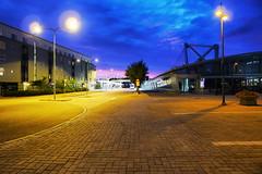 Columbus (timo_w2s) Tags: street columbus summer night finland helsinki busstation vuosaari