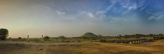 Peace (anitavaroy) Tags: trees sky landscape forest beauty mountains people river travel blue light clouds tree beautiful panorama village mountain panoramic wide angle rural india