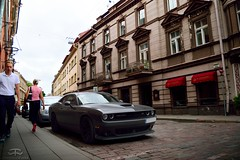 Dodge Challenger SRT (Paul.Z.Foto) Tags: auto car vehicle automobile automotive bil vilnius town city urban daylight day daytime time less works timeless timelessworks photo foto photograph photography pic picture image spotted american us usa usdm muscle musclecar sport sporty sportscar sports classic retro modern rwd v8