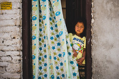 Music (Daniele Zanni) Tags: travel nepal girl kid google flickr facebook nepali 500px x100s