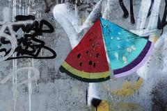 water mellon (margycrane) Tags: streetart graffiti warsaw watermellon arbuz