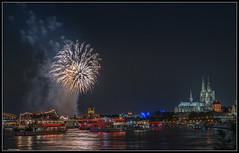Klner Lichter 2016 (rapp_henry) Tags: night river lights nikon nacht kathedrale cologne kln firework fluss rhine rhein lichter d800 feuerwerk nikon2470mm28 chathdral