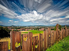 Stretched With the Wind (Only Snatches) Tags: bavaria bayern deutschland germany himmel livecomposite nd1000x natur neumarkt oberpfalz rokinon samyang12mm120 upperpalatinate walimex wolken clouds nature sky ngc