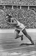 Jesse Owens at the 1936 Olympics (US Department of State) Tags: olympics summerolympics olympichistory