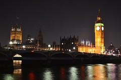 London- Palace Of Westminster (ashleyshields) Tags: houseofparliament palaceofwestminster bigben westminster riverthames thames london londonatnight thisislondon nikon nikond3100 nikonphotography houseofcommons houseoflords bridge