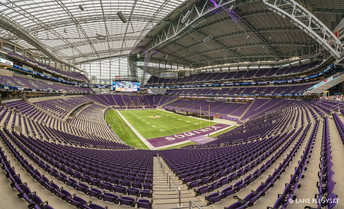 US Bank Stadium - South End Zone #openthegates