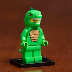 Lego Minifigures Series 5- Lizard Man (Andrew D2010) Tags: minifig minifigure suit lego godzilla dinosaur lizardman lizard series5 man dinoman