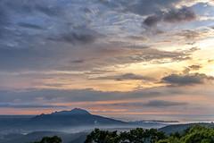 - Mt. Kuan-yin sunset (basaza) Tags: 30d 1635 canon   taipei