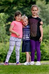 DSC_7421a Grace Jason and Kaelin share a big hug - Beecraigs Country Park (henryhulley) Tags: children hug hugs smile preen girls boy child nikon nikonuser nikond80 summer park play