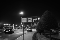There are always signs along the path... (EHA73) Tags: leica nightphotography blackandwhite bw monochrome streetphotography souk roadsigns leicamm aposummicronm1250asph typ246