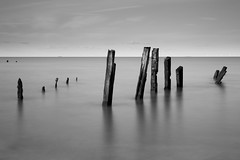 3927 Groynes At Sheerness (andy linden) Tags: sea water long exposure groynes sheerness 3927 at