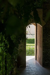 Exit to the light (Digital Travelers) Tags: 500px alcazar castle spain sevilla seville espaa architecture madrid art nature green garden door light