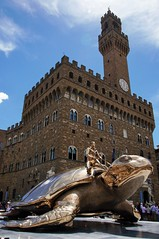 Searching for Utopia-Jan Fabre (Martina Santucci) Tags: urban italy sculpture art gold florence italia arte turtle tuscany firenze toscana tartaruga utopia oro scultura janfabre searchingforutopia
