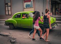 Streets of Havana - Cuba (IV2K) Tags: havana habana lahabana cuba cuban kuba caribbean centro centrohavana centrohabana sony rx1 fidel castro fidelcastro vintage car automobile classic zeiss