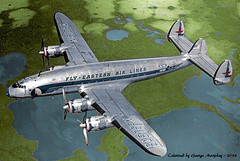 Fly Eastern Colorized (gdmey) Tags: lockheed constellation colorized aircraft airplane airline