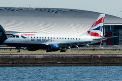 BA CityFlyer - Embraer ERJ-170STD - G-LCYI  London City Airport (paulstevenchalmers) Tags: londoncity london lcy airport