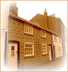 Old Fishermens Cottages .. (** Janets Photos **) Tags: uk northyorkshire filey oldcottages fisherfolk victorian streets sepia