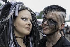 NL2 (Steve.frog) Tags: amphi rpc cologne gothic people portrait bw sw schwarz weiss weis