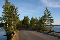 Punkaharju Ridge #2 (Umberto Luparelli) Tags: saimaa street trees waters