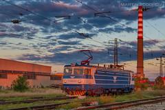 Industrial Maneuver (feverpictures) Tags: class 46 bdz cargo voluyak station locomotive industrial