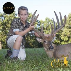 2016 First Buck of the Season (oakcreekhunt) Tags: whitetail wwwoakcreekwhitetailranchcom deer recordbookdeer outdoor