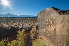 Counting Sun (tourtrophy) Tags: easternsierra 13moonpetroglyph volcanictablelands canoneos5dmark3 samyang14mmf28 rock desert sierranevada monocounty inyocounty