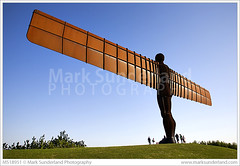 The Angel of The North ( Mark Sunderland www.marksunderland.com) Tags: travel northeast northumbria newcastle gateshead anthonygormley modernart art contemporary sculpture angel wings statue iron rust rusty corrosion weathered steel huge big giant bluesky britain britishisles england europe gb greatbritain uk unitedkingdom people tyneandwear ukengland