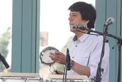 Viramundo (2016) 09 (KM's Live Music shots) Tags: worldmusic chile viramundo carlosfuentes tamborim framedrum handpercussion drums festivalofbrasil hornimanmuseum