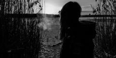 SEE in BNW (Anne_Preu) Tags: schwarzweis blackandwhite bnw naturfotografie nature sonne 2016 sonnenschein naturephotography schnee winter sachsen anhalt jerichow woman lumix fz1000 beautifulday fotoshoot natureshooters bnwlife