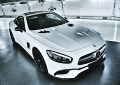 Mercedes SL 63 AMG (Thomas_982) Tags: cars mercedes benz sl 63 amg germany white