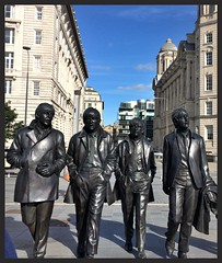 The Fab Four (rebeccadelaney45) Tags: thebeatles fabfourpierhead liverpool