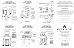 Tupa Firebox Stove (littlereddog01) Tags: stove fireboxstove firebox camping hiking cooking illustration inks inked diagram instructions travel drawing