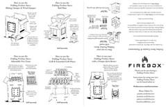 Tupa Firebox Stove (littlereddog01) Tags: stove fireboxstove firebox camping hiking cooking illustration inks inked diagram instructions travel drawing