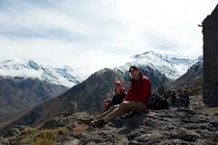 Hiking in La Parva