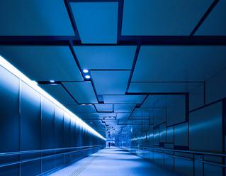 Passage on the underground (池袋の地下道)