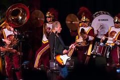 2015_Lindsey_Buckingham_0068 (bchua_90007) Tags: band marching usc lindsey trojan buckingham auditorium tusk 2015 bovard
