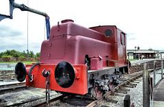 9366 (R~P~M) Tags: uk greatbritain england train industrial unitedkingdom buckinghamshire railway steam artdeco locomotive bucks sentinel quaintonroad