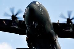 Hercules (Bernie Condon) Tags: plane flying martin aircraft military transport cargo lm lockheed hercules raf c130 airlift herc frieght brizenorton c130j brize